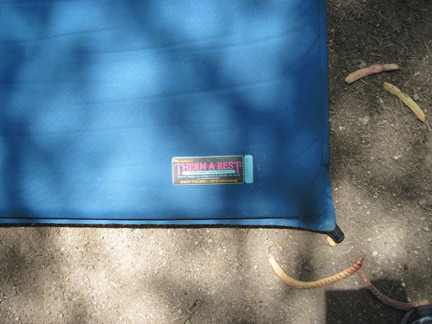 Patch a Therm-a-Rest camping mat