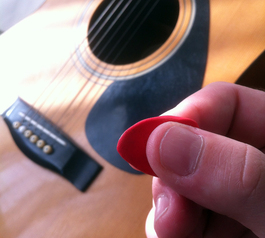 Make extra-flexible guitar picks