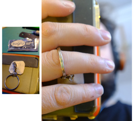 Add a keyring loop to the back of your phone case using Sugru