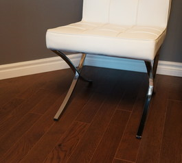 Prevent your chair from scratching a wooden floor