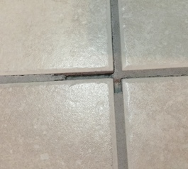 Make a small repair to your grouting