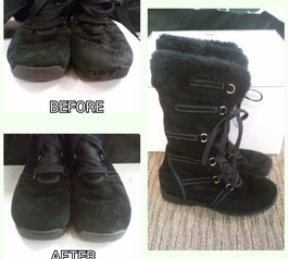 Fix your damaged boots