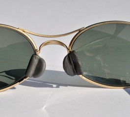 Replace a nose pad on Ray-Ban sunglasses (after)