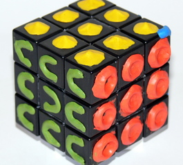Make a Rubik's cube solvable in the dark (after)