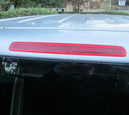 Replace the rubber seal on a brakelight (after)