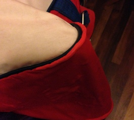 Fix worn out corners on a vintage bag