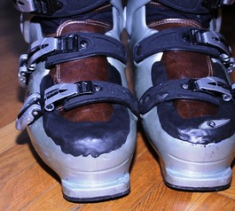 Fix your favourite ski boots (after)