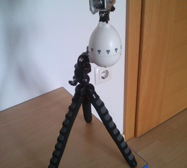 Make a GoPro rotating time-lapse tripod  (after)