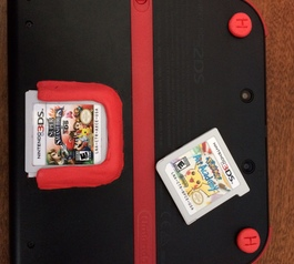 Create a Nintendo 2DS game holder (after)