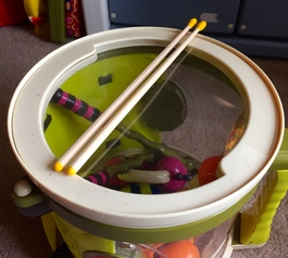 Make your own drum sticks (after)