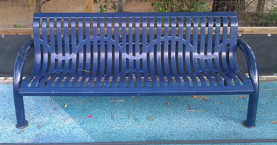 Renew an outdoor bench's coating