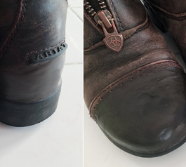 Fix leather riding boots (after)