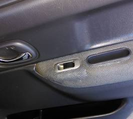 Fix your car door upholstery (after)