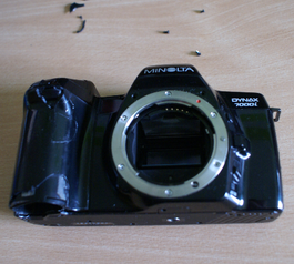 Make a new camera handle (before)