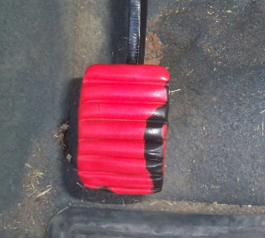 Make the clutch pedal of your car slip-free