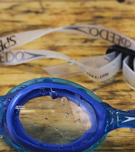 make DIY prescription swimming goggles