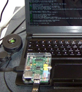how to modify an Atrix for a Raspberry Pi