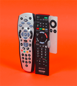 Turn 3 remotes into 1: Find one find them all