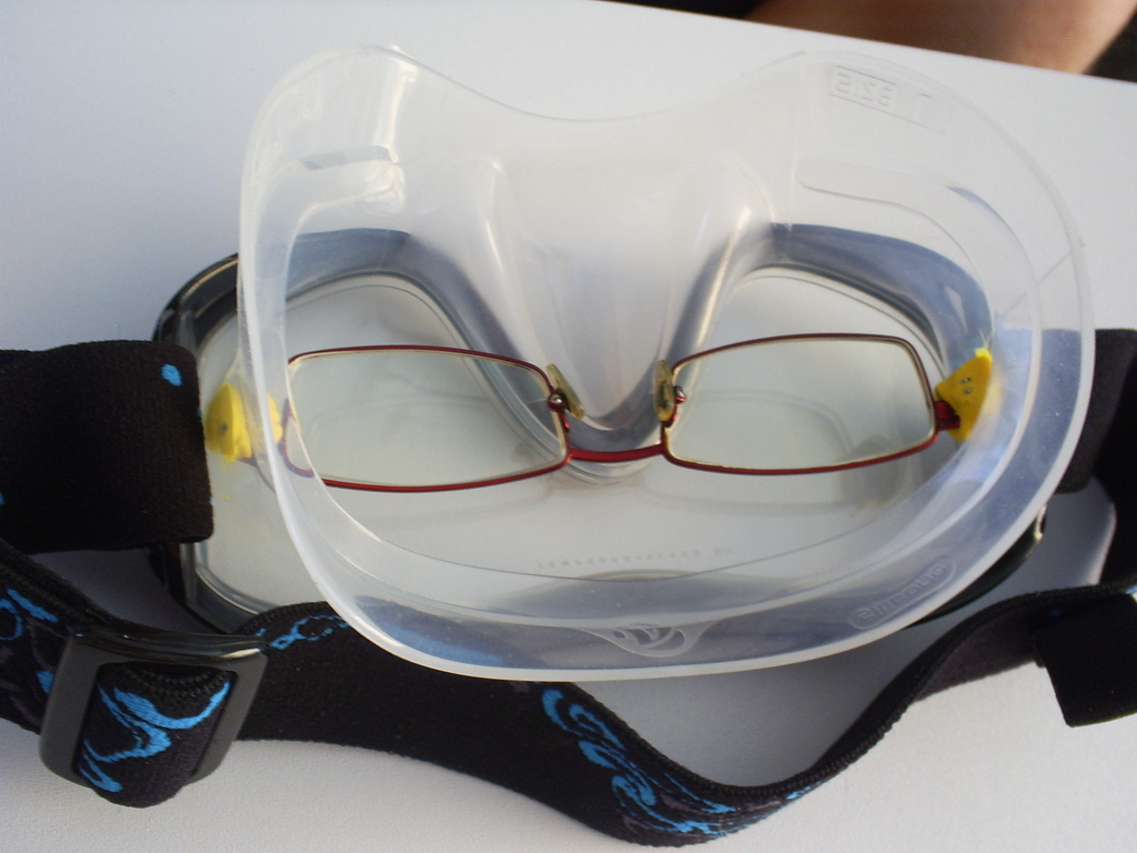 how to make your own prescription snorkeling mask sugru