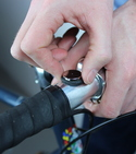 How to make bike lights magnetic with Sugru + magnets — Step 4