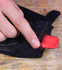 How to keep your gloves together with lego and sugru —Step 4