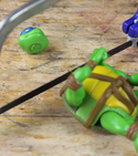 How to mash-up your toys with lego and sugru! — Step 2