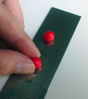 How to make a steel ruler anti-slip — Step 2