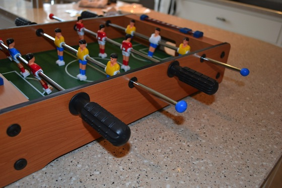 table football fixed with sugru