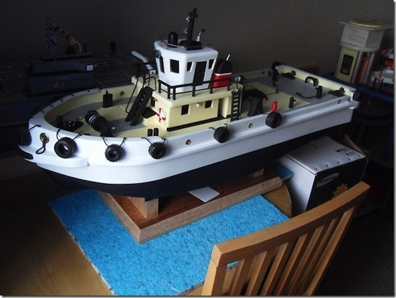 toy boat with protective sugru