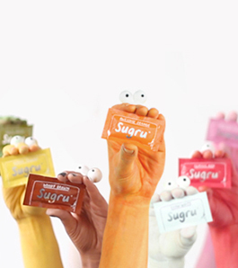 Sugru. It's just so handy... now in 10 great colours!